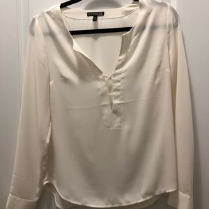 Ivory Blouse from Express